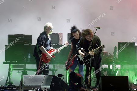 The Cure - Reeves Gabrels, Simon Gallup and Robert Smith