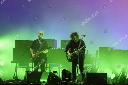 The Cure - Reeves Gabrels and Robert Smith