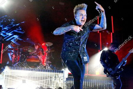 Editorial picture of Papa Roach in concert, Farm Bureau Insurance Lawn, White River State Park, Indianapolis, USA - 21 Aug 2019