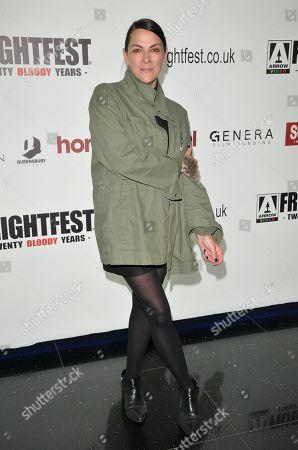 Jennifer Reeder at the 'Knives & Skin' film premiere