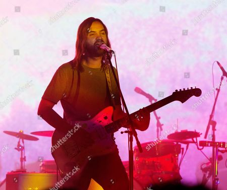 Kevin Parker of the band Tame Impala performs at TD Pavilion at the Mann, in Philadelphia