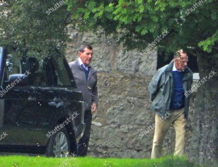 Prince Philip on the Balmoral estate