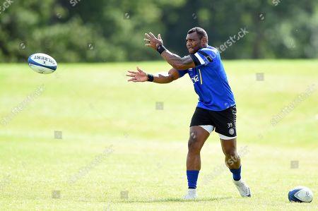 Semesa Rokoduguni of Bath Rugby in action