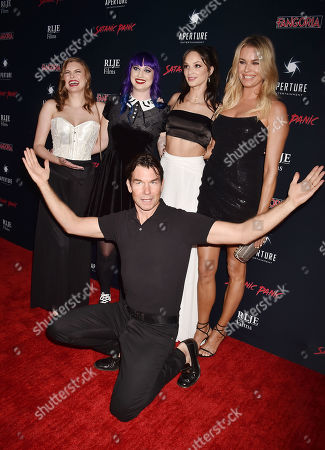 Stock Picture of Hayley Griffith, Chelsea Stardust, Jerry O'Connell, Ruby Modine, Rebecca Romijn
