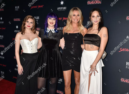 Stock Photo of Hayley Griffith, Chelsea Stardust, Rebecca Romijn, Ruby Modine