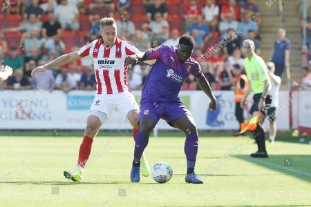 Editorial photo of Cheltenham Town v Swindon Town, EFL Sky Bet League 2 - 24 Aug 2019