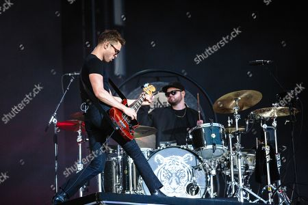 Stock Photo of Royal Blood - Mike Kerr and Ben Thatcher