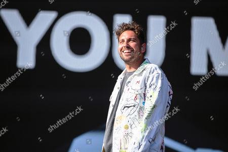 Stock Image of Josh Franceschi - You Me At Six