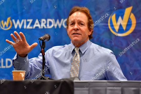 Stock Image of Steve Guttenberg seen on Day 1 at Wizard World at Donald E Stephens Convention Center, in Chicago