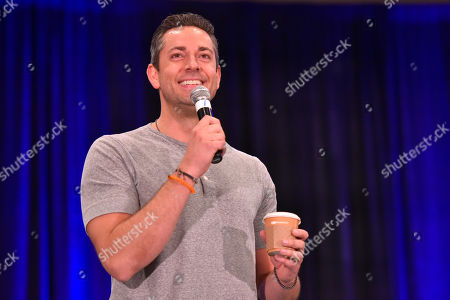 Stock Image of Zachary Levi seen on Day 1 at Wizard World at Donald E Stephens Convention Center, in Chicago
