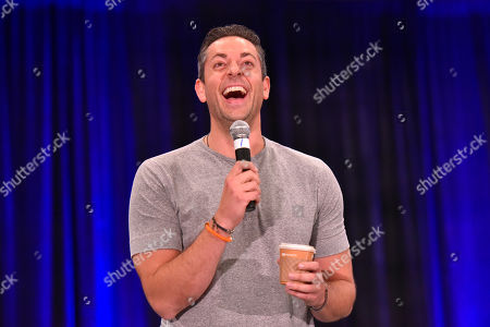 Stock Picture of Zachary Levi seen on Day 1 at Wizard World at Donald E Stephens Convention Center, in Chicago