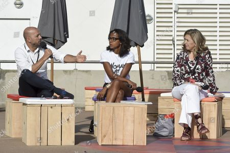 Editorial photo of French socialist party summer camp,  La Rochelle, France - 24 Aug 2019