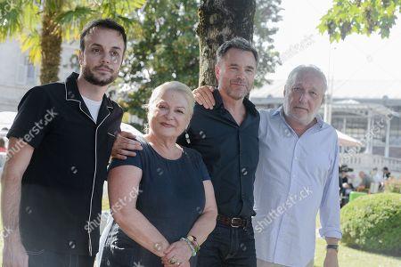 Jeremy Lopez, Josiane Balasko, Guillaume de Tonquedec and Francois Berleand