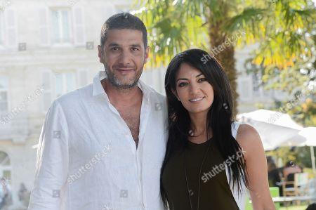 Nabil Ayouch and Loubna Abidar