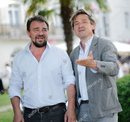 Stock Image of Thierry Godard and Louis Do De Lencquesaing