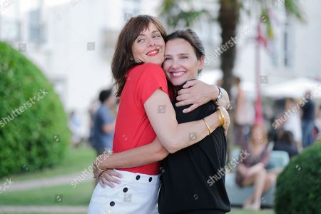 Valerie Donzelli and Virginie Ledoyen