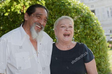 George Aguilar and Josiane Balasko