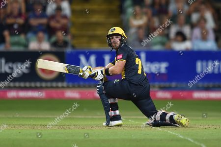 David Lloyd of Glamorgan batting during the Vitality T20 Blast South Group match between Somerset County Cricket Club and Glamorgan County Cricket Club at the Cooper Associates County Ground, Taunton