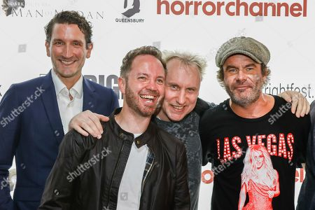 Ed Kingsley, Damian Gallagher, Jake West (Doghouse) and Mickey Gooch Jr... (How To Be Single, Monster Party)