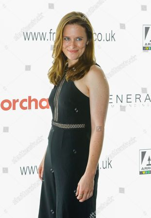 Katie Brayben attends the screening of 'A Serial Killer's Guide to Life'