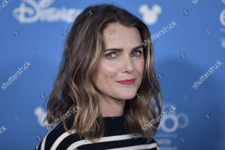 Keri Russell attends the Go Behind the Scenes with the Walt Disney Studios press line at the 2019 D23 Expo, in Anaheim, Calif