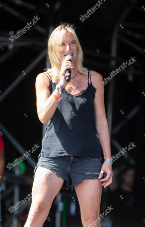 Stock Picture of DJ Jo Whiley