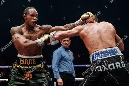 Editorial photo of Kovalev Yarde Boxing, Chelyabinsk, Russian Federation - 24 Aug 2019