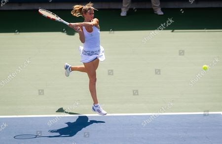 Stock Photo of Camila Giorgi of Italy in action during the final
