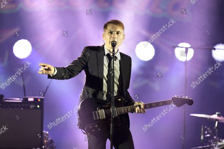 Editorial photo of Franz Ferdinand in concert at Terrasse Riviera, Palais des Festivals, Cannes, France - 22 Aug 2019