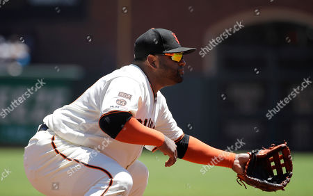 Editorial picture of Giants Sandoval Surgery Baseball, San Francisco, USA - 24 Jul 2019
