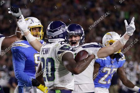 Editorial picture of Seahawks Chargers Football, Carson, USA - 24 Aug 2019