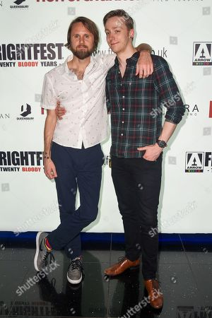 Ben Lovett and Josh Lobo attend the screening of 'I Trapped The Devil'