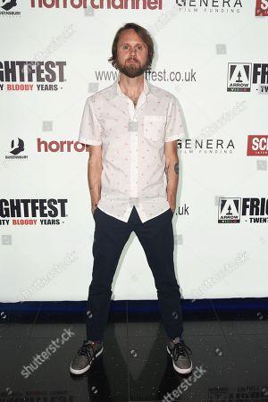 Ben Lovett attends the screening of 'The Dark Red'