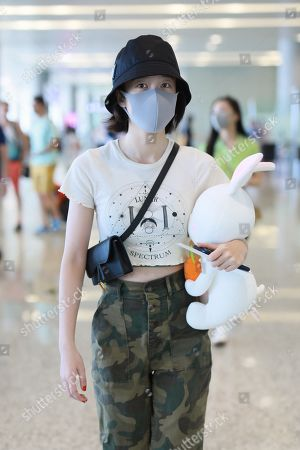 Sophie Zhang at Shanghai Airport