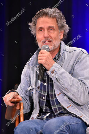 Chris Sarandon participates during a Q&A panel on day two at Wizard World at the Donald E Stephens Convention Center, in Chicago