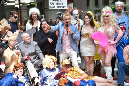 Stock Photo of Kato Kaelin interacts with fans on day two at Wizard World at the Donald E Stephens Convention Center, in Chicago