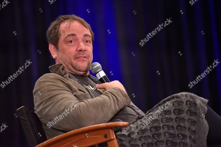 Stock Picture of Mark Sheppard participates during a Q&A panel on day two at Wizard World at the Donald E Stephens Convention Center, in Chicago