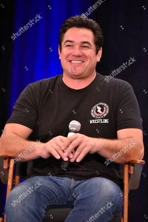 Dean Cain participates during a Q&A panel on day two at Wizard World at the Donald E Stephens Convention Center, in Chicago
