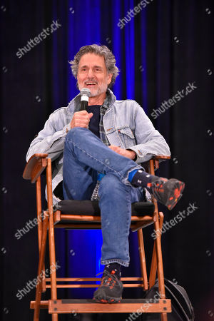 Stock Photo of Chris Sarandon participates during a Q&A panel on day two at Wizard World at the Donald E Stephens Convention Center, in Chicago