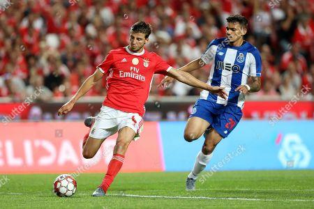 Ruben Dias of SL Benfica and Tiquinho Soares of FC Porto