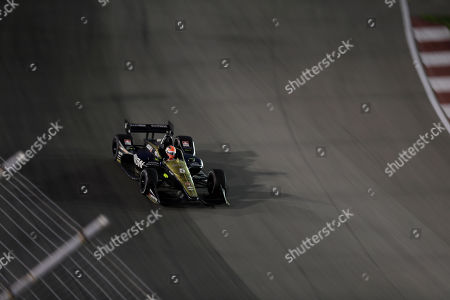James Hinchcliffe in action during the IndyCar auto race at World Wide Technology Raceway, in Madison, Ill