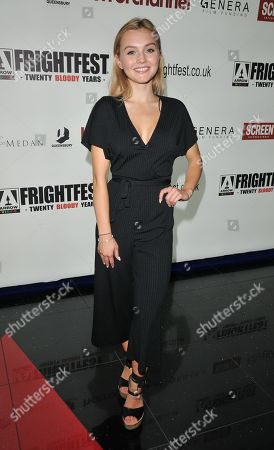 Stock Image of Alana Boden attends the screening of 'Feedback'