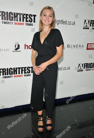 Editorial image of 'Frightfest' at Cineworld Leicester Square, London, UK - 24 Aug 2019