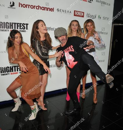 Guest with Jess Impiazzi, Mickey Gooch Jr..., Georgia Harrison and Montana Brown