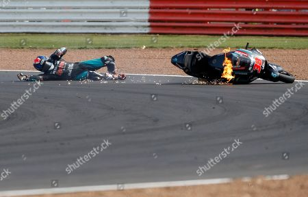 Editorial image of GP Motorcycle Racing, Silverstone, United Kingdom - 25 Aug 2019
