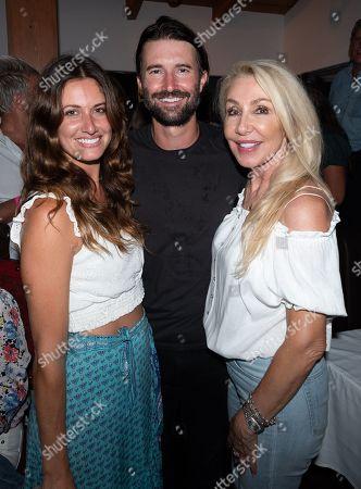 Cayley Stoker, Brandon Jenner and Linda Thompson