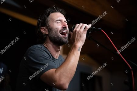 Brandon Jenner in concert at Casa Escobar, Los Angeles