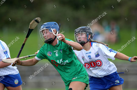 Stock Picture of 25/8/2019. Limerick vs Waterford. Limerick's Emma Kennedy and Alannah O'Sullivan of Waterford