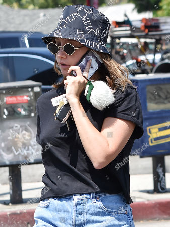 Editorial image of Ashley Tisdale out and about, Los Angeles, USA - 23 Aug 2019