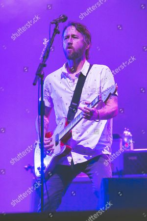 Stock Picture of Foo Fighters - Chris Shiflett